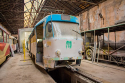 В Одессе презентовали новый трамвай (ФОТО)