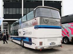 Автобус Neoplan NH22L образца 1967 года. Выставлен в честь празднования 50-летия двухэтажников Neoplan.