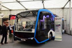 Электробус Sileo S12 в новом кузове.
