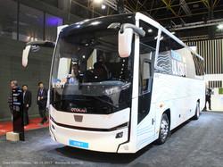 Туристический автобус Otokar Ulyso T с простым, но привлекательным дизайном.