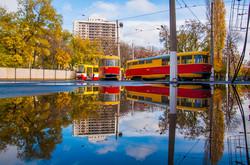 В Одессе отметили троллейбусный юбилей (ФОТО)