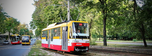 Статистика работы пассажирского транспорта в Одессе: потоки пассажиров падают