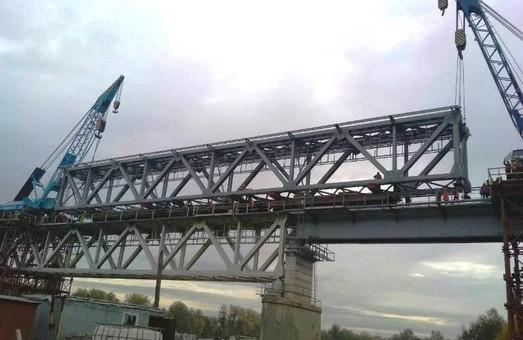 На Одесской железной дороге отремонтировали мост через Южный Буг (ФОТО)