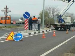 На трассе Одесса - Рени появился первый ограничитель скорости на въезде в село Маяки (ФОТО)