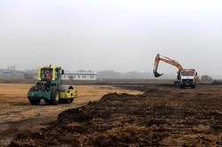 В Одесском аэропорту началось фактическое строительство взлетной полосы