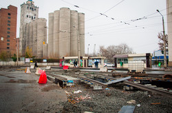 Как ремонтируют трамвайные пути в Харькове (ФОТО)