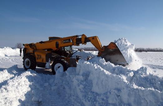 Как одесские чиновники намерены бороться со снегом на дорогах