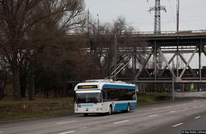 """В Днепре восстановили ранее разобранную линию троллейбуса к жилмассиву """"Парус"""""""