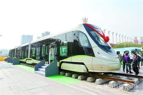 В Китае начинают производство водородных трамваев