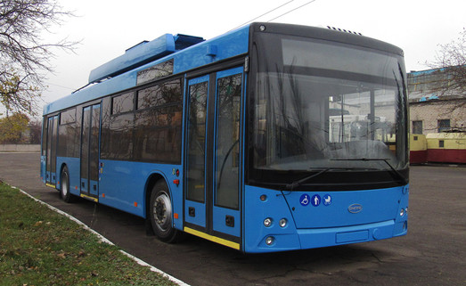 В Краматорск завершилась поставка троллейбусов МАЗ