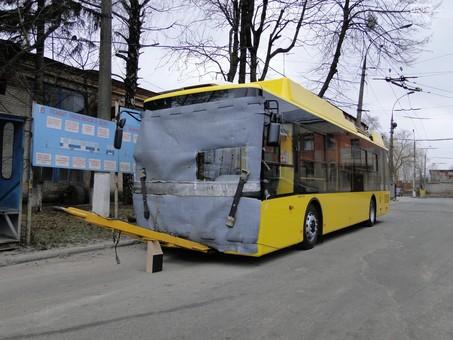 В Хмельницкий прибыла первая партия новых троллейбусов
