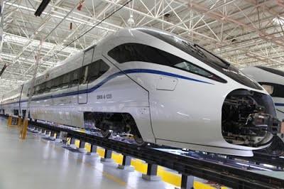 В Китае запущены очередные скоростные поезда от Bombardier