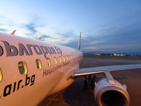 Уже завтра в Одессу начинает летать национальная авиакомпания Болгарии