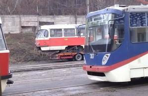 Мариуполь получил подаренные трамваи из Чехии