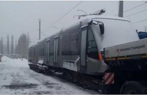 """Киев получил первые два из семи новых трамваев """"Электрон"""""""