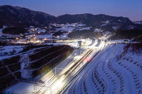 """Кореяоткрыла""""олимпийскую"""" скоростную линию железной дороги"""