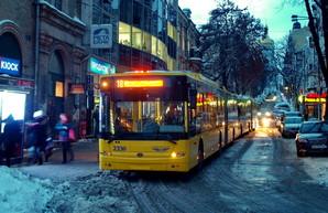 В Киеве собираются благоустроить 240 остановок