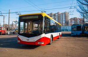 Новый белорусский троллейбус завтра покажут одесситам и отправят в первый рейс