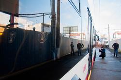 Новый одесский троллейбус показали общественности и отправили в первый рейс (ФОТО)