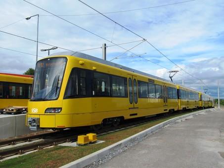 В Штутгарте открыли новые линии скоростного трамвая штадтбана
