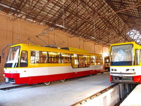 Сколько в 2017 году в Украине купили трамваев и троллейбусов