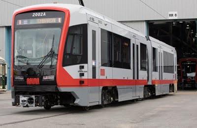 В Калифорнию начались поставки трамваев Siemens
