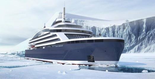 Норвегия строит первый в мире круизный ледокол