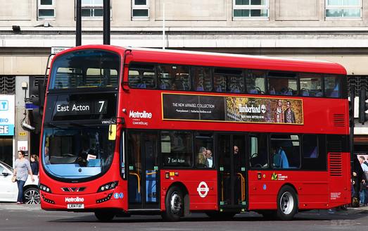 """В Лондоне запустили """"кофейные"""" автобусы"""