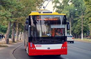 """Фото дня: новые троллейбусы """"Богдан"""" на улицах Одессы"""