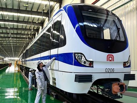 Открыта вторая линия метро в китайском Хэфэе