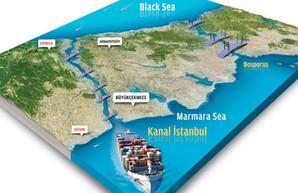 Турция планирует запустить судоходство из Черного в Мраморное море в обход пролива Босфор