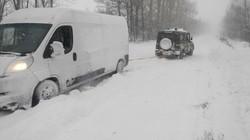 Трассу Одесса - Киев полностью закрыли для движения