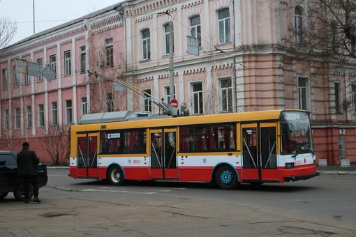 Электротранспорт Одессы после непогоды работает