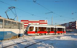 В Магнитогорск начались поставки новых трамваев