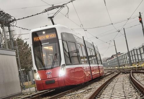 В Вене тестируют трамваи нового поколения