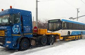 Днепр получает белорусские троллейбусы