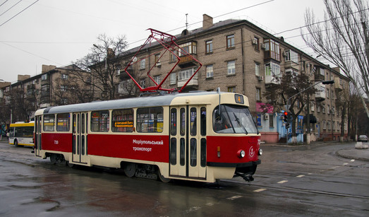 Мариуполь закупает два десятка подержанных трамваев за 34 миллиона