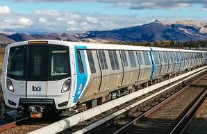 В метро Сан-Францинско запустили новые поезда