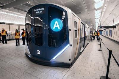 Нью-Йорк закупает 535 новых вагонов метро