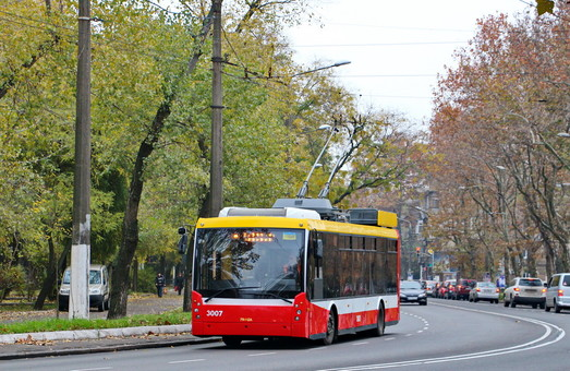 Власти Черноморска хотят запустить междугородний троллейбус в Одессу