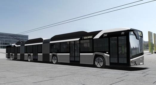 """Польский """"Solaris"""" разработал трехсекционный троллейбус (ФОТО)"""