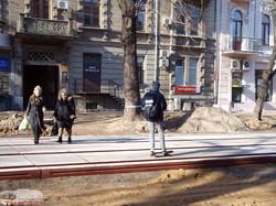 Как ремонтируют улицу Преображенскую в Одессе: смотрим с высоты (ФОТО, ВИДЕО)