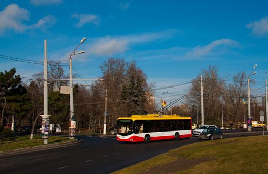 В Одессе троллейбус №9 будет вытеснять дублирующие маршрутки