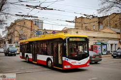 Новые белорусские троллейбусы начали работать на одесских маршрутах (ФОТО)