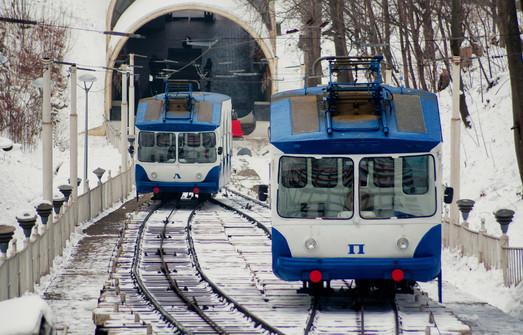 Киев закупает новые вагоны для своего фуникулера