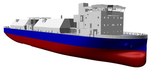 Корея проектирует первое в мире судно без балласта