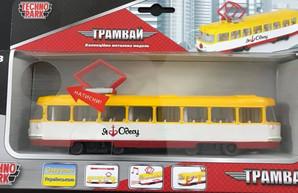 Одесские трамваи стали темой для детских игрушек