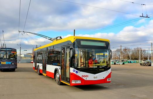 Одесса первой в Украине реализовала проект сотрудничества с ЕБРР по закупке троллейбусов