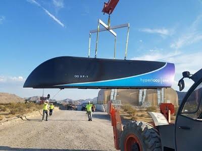 В Индии построят первую линию по технологии Hyperloop