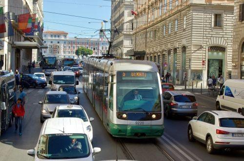 В Риме постоят новую трамвайную линию